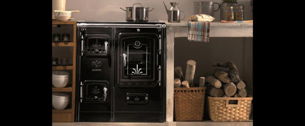 Cocina de leña Lis de Lacunza / Muebles de cocina ...