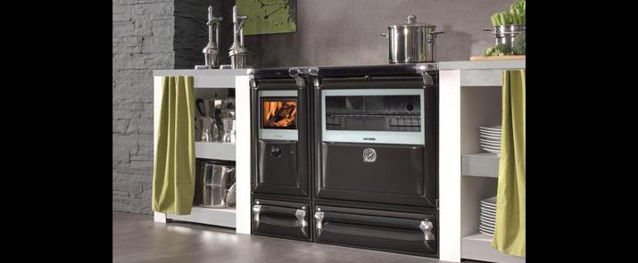 Cocina de leña Vulcano de Lacunza / Muebles de cocina ...