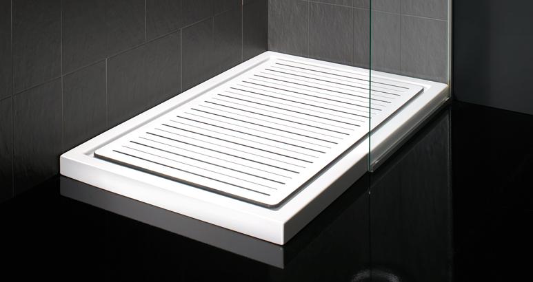 Tarima para plato de ducha de estoli accesorios y decoraci n productos 1301 el mundo gamma - Como limpiar el plato de ducha ...