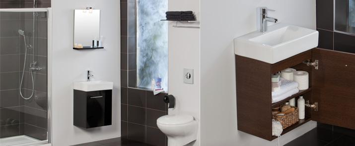 Mueble de ba o smart de tattom para espacios reducidos - Muebles pequenos para bano ...