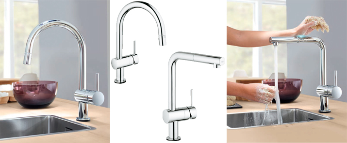 Grifo grohe cocina extraible finest gallery of elegant - Grifo grohe cocina extraible ...