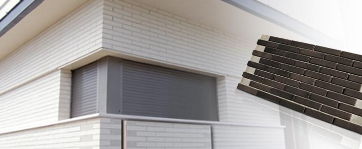 Paneles aislantes plaqueta cer mica termoklinker de la for Paneles aislantes para fachadas
