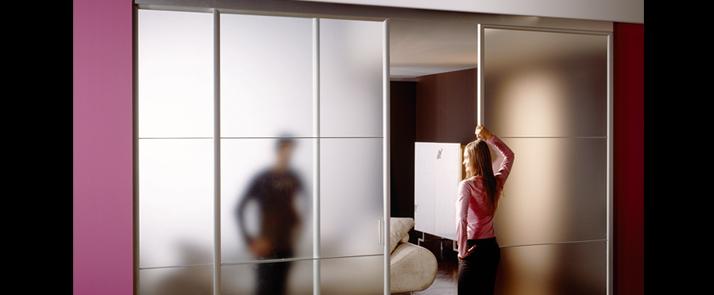 Puerta doble corredera de krona puertas correderas - Puerta corredera doble ...