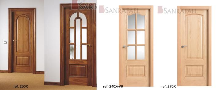 Puertas de interior curva de sanrafael puertas interior - Tipos de puertas de interior ...