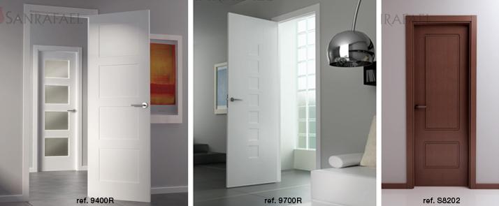 Puertas de interior new classic de sanrafael puertas for Decoracion de puertas de interior