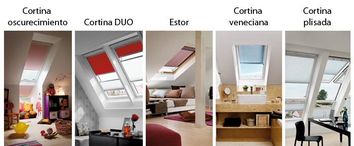 Cortinas para todas las ventanas velux ventanas exterior - Cortinas velux precios ...