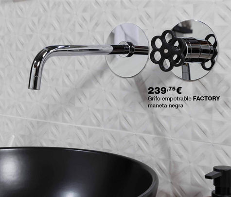 Grifo FACTORY empotrable por 239,75€